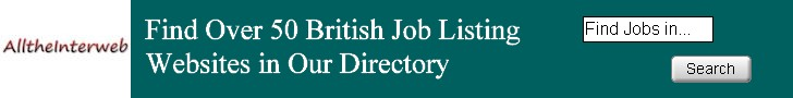 Find Over 50 British Job Listing Websites in the UK Jobs Section of Our Web Directory